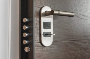 A master lock and key